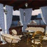 шторы для открытой веранды на даче