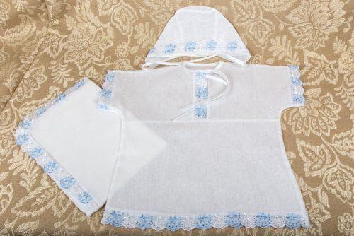 крестильный набор для мальчика от производителя Мостик