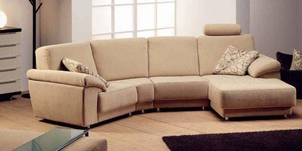 флок для дивана в гостиной