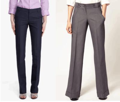брюки из ткани диор