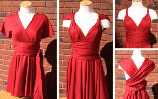 из какой ткани лучше сшить платье