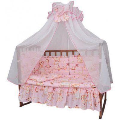 длина балдахина на кроватку для новорожденных