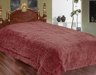 меховое покрывало на кровать