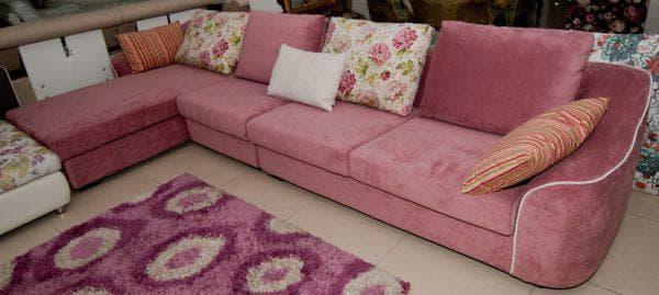 велюр для чехла на диван