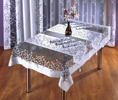праздничные скатерти на стол 10 на 15