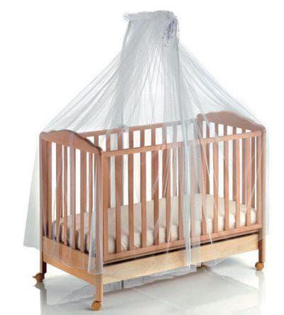 тюль для балдахина на кроватку для новорожденных