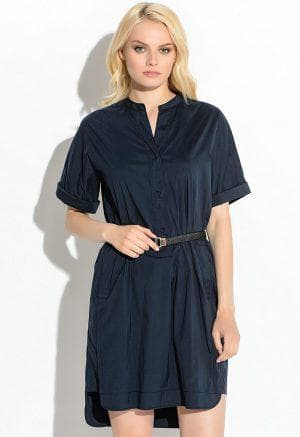 котон для платья в форме платья рубашки