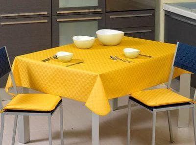 однотонная клеенка на стол для кухни