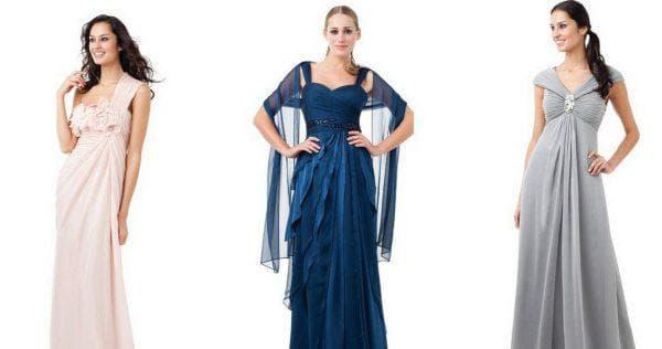 атлас для платья в форме платья ампир