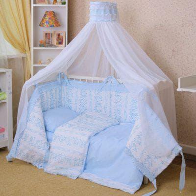 ситец для балдахина на кроватку для новорожденных