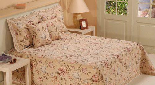 детское покрывало на кровать для девочки из гобелена