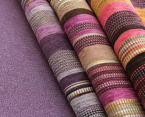 тканный шинилл разного цвета
