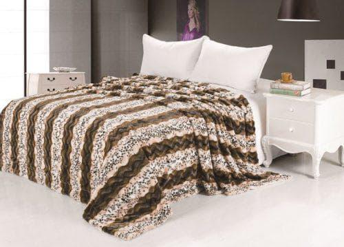 покрывало на кровать из меха производства Tango