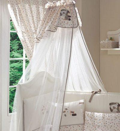 балдахин на кроватку для новорожденных Bebe Luvicci