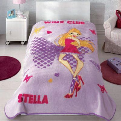 детское покрывало на кровать для девочки из акрила