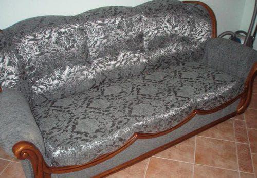 хлопок для обшивки дивана