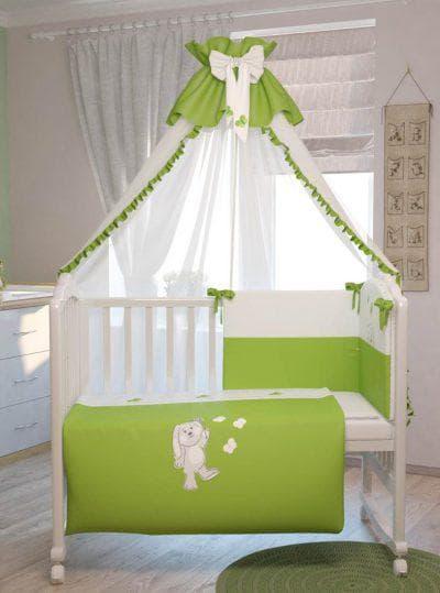 балдахин на кроватку для новорожденных Polini