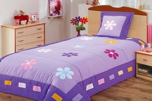 детское покрывало на кровать для девочек подростков