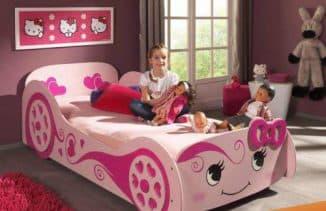 кроватка девочки