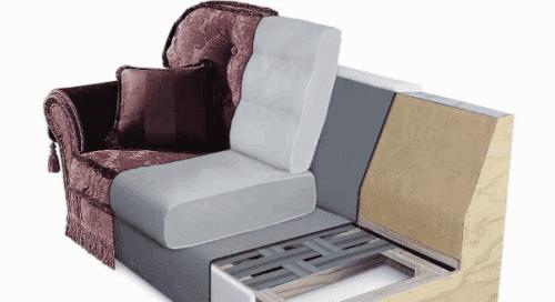 поролон для диван-книжки