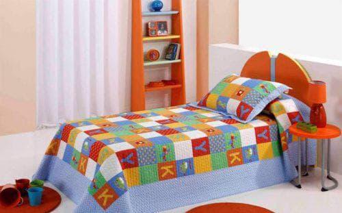 детское покрывало на кровать для мальчика разной расцветки