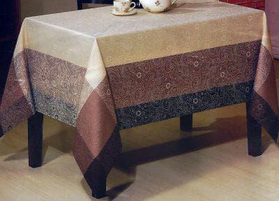 прозрачная скатерть на кухонный стол с пропиткой