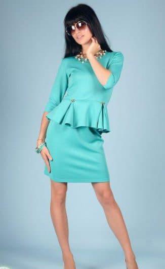 красивое платье от материала тканьи далгыч