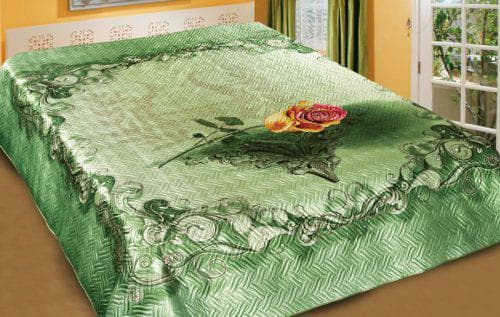 покрывало на кровать из шёлка