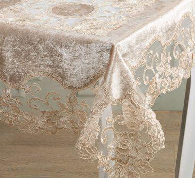 прозрачная скатерть на кухонный стол от GreeTextile