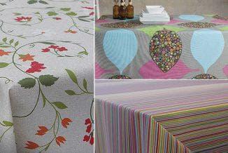 скатерть с тефлоновым покрытием разного цвета