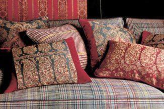 ткань etro для подушек на диван