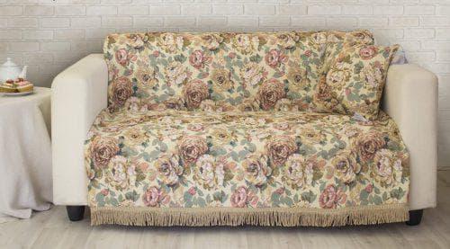 покрывало из гобелена на диван от East Comfort