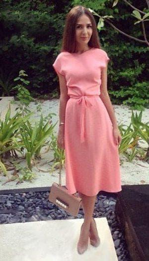платья из шифоновой ткани