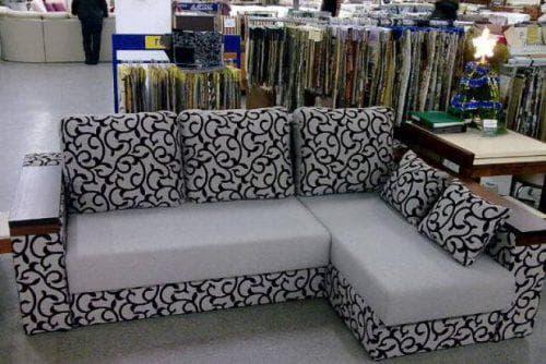 ткань рогожка для мебели