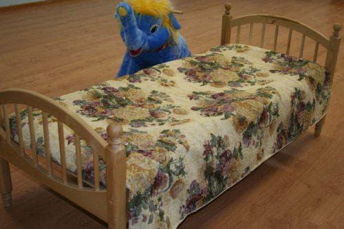 покрывало из гобелена на детскую кроватку от Arya