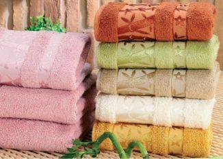 полотенца бамбуковые турция