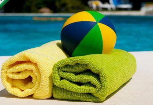 полотенце для бассейна от Dell'aria