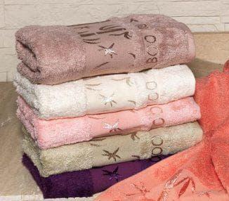 бамбуковые полотенца разной расцветки