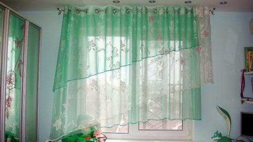 капроновые шторы