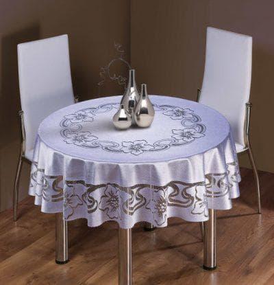 круглая скатерть на стол для кухни от Naft