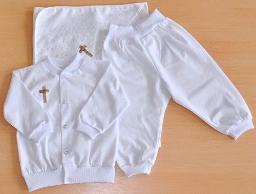 одежда для крестильного набора для мальчика