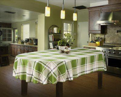 скатерть на овальный стол для кухни от Apolena