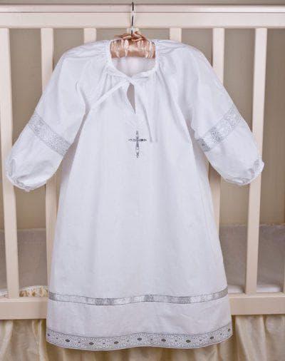 рубашка для крестин для девочек