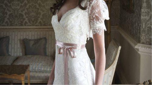 капрон для отделки свадебного платья
