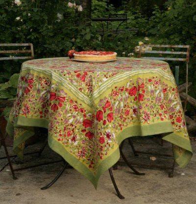 круглая скатерть на стол для кухни Mas d'Ousvan