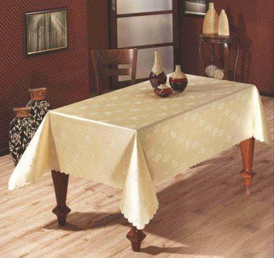 водоотталкивающая скатерть на стол для кухни из акрила