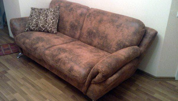 мебель из замши