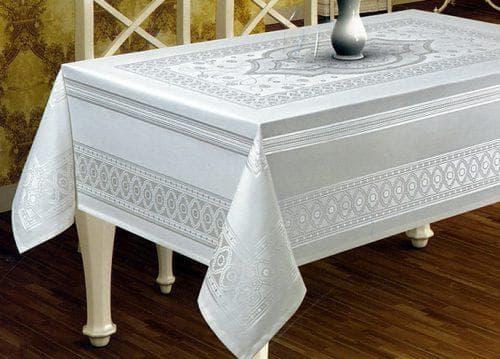 водоотталкивающая скатерть на стол для кухни из тефлона