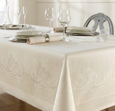 водоотталкивающая скатерть на стол для кухни от Friedola из Германии