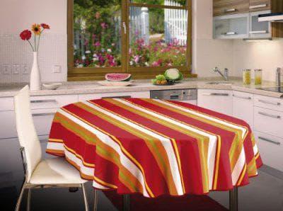 скатерть на овальный стол для кухни от Eva